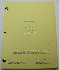 The Replacements / Vince McKewin 1999 Screenplay, Keanu Reeves Football Film