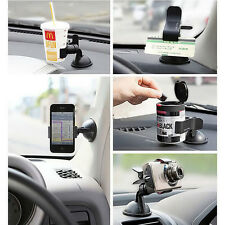 Universal 360°Rotating Car Windshield Mount Holder Stand For Mobile Phone GPS I6