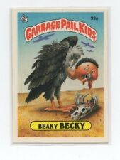 Beaky Becky Garbage Pail Kids Card # 99 A   NEXT DAY SHIP AFTER PAYMENT
