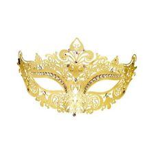 Metal Masquerade Mask - Gold & Silver