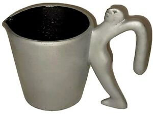 Vtg CARROL BOYES Water Jug Man Pewter Pitcher    South Africa   EARLY  HTF  RARE
