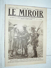 MIROIR 06/08 1916 GUERRE 14-18 TOMMIES SOMME SOUS-MARIN U-BOOT UC-5 GALICIE