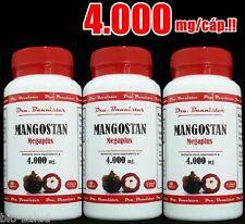 ENVIO URGENTE: MANGOSTAN  Dra.Bannister 4000mg/3x60c. Sólo 1 cáp/día!