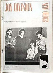 Joy Division/New Order - A History in Cuttings. 1985 book of press cuttings etc.