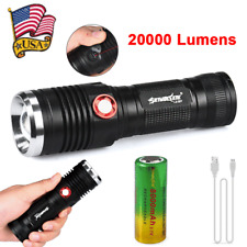 ZOOM 20000LM CREE XM-L2 U2 LED 3 Mode USB Rechargeable 26650 Flashlight Torch