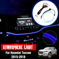 Striscia Barra Luminosa Decorata Led Atmosfera Luci Per Hyundai Tucson 2015-2018