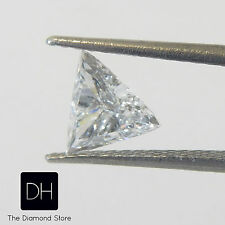 0.28 Ct. Loose Diamond Triangle Shape D VS1 Trillion Pendant Valentine's Day