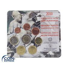 *** EURO KMS GRIECHENLAND 2010 BU mit 2 € Gedenkmünze Schlacht von Marathon ***