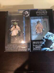 Star Wars Black Series YODA2015 Blue Line #06 - Brand New + Yoda Force spirit