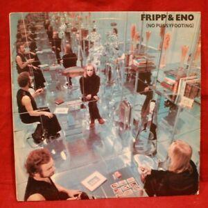 EX Brian ENO LP NO PUSSYFOOTING 1980 Original US PRESSING EGS 102 Robert Fripp