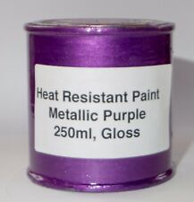 250ml PURPLE METALLIC Gloss Heat Resist Paint Engine Caliper Brake FREE POSTAGE