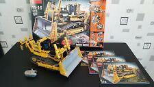 LEGO Technic 8275 Bulldozer Motorizzato + Telecomando + istruzioni + scatola