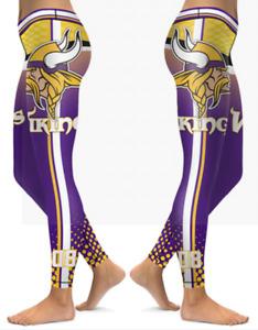 Minnesota Vikings Small - X-Large Women's Leggings New