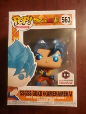 Funko pop! Dragon Ball Z SSGSS Goku with Kamehameha Metallic Chalice Exclusive