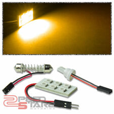 T10 5050 194/168/W5W 6-SMD 12V BRIGHT AMBER LED INTERIOR DOME WEDGE LAMPS/BULB