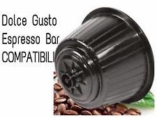80 CAPSULE CAFFE' ESPRESSO BAR COMPATIBILI DOLCE GUSTO