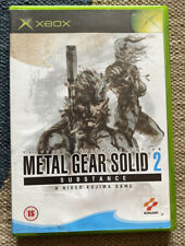Metal Gear Solid 2 Substance (Microsoft Xbox, 2003)