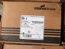 Cooper B-Line # BB4-6   Box Mounting Bracket  100 PC Box. FREE SHIPPING   USA
