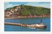 Banjo Pier Looe Old Postcard 341a ^