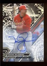 2017 Topps High Tek Mark McGwire on-card autograph -- CARDINALS signature auto