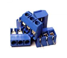 Set conector pcb 3 pin azul x 5 unidades