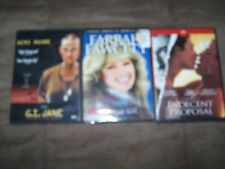 Indecent Proposal, GI Jane, Dalva, Murder on Flight 502(new) 3 DVD in Excellent