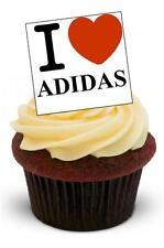 NOVITA 'I Love ADIDAS Stand Up Commestibili Decorazioni per Torta Compleanno Scarpe da ginnastica Boy Girl