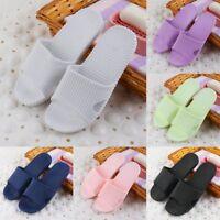 Unisex Women Men Shoes Bathroom Skidproof Flat Slippers Indoor Beach Slippers RA