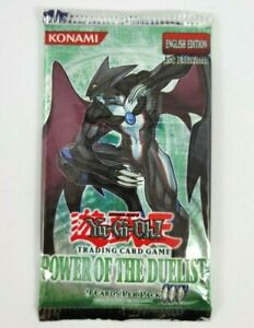 Power of the Duelist 1st Edition English Booster Pack Yugioh TCG - New Sealed