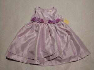 NWT Gymboree Girls Spring Jubilee Purple Flower Easter Dress