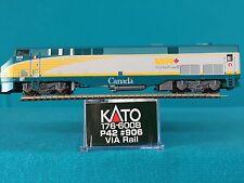 176-6008 Kato N Scale P42 VIA Rail #906 NIB