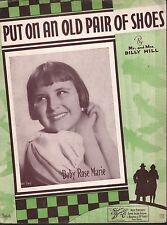 Put On An Old Pair of Shoes 1935 Baby Rose (Rose Marie-Dick Van Dyke Show)
