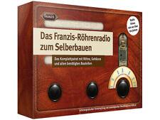 Franzis Röhrenradio Bausatz zum Löten - Elektrobaukasten