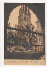 Toledo Catedral Detalle de la Torre Spain Vintage Postcard 310a
