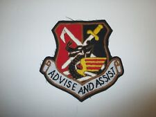 b6252 US Air Force Advise And Assist patch IR22C