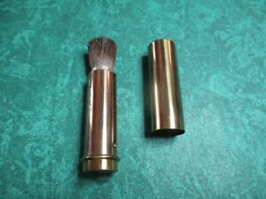 VINTAGE 1950'S~60'S COSMETIC MAKE UP RETRACTABLE BRUSH JAPAN