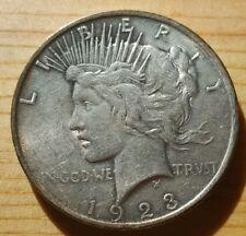 1923 Peace Dollar rare silver coin KM# 150