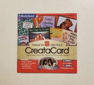 American Greetings CreataCard (Vintage PC CD-ROM, 2002)