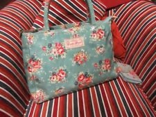 Candy Flowers horizontal Tote bag Blue floral bonus wallet generic SALE ITEM