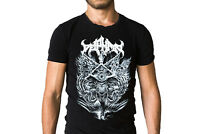 Deiphago Into The Eye Of Satan 2015 Black Logo Album Cover T-Shirt