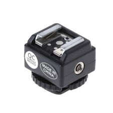 Au Hot Shoe Konverter Adapter Pc Sync Port Werkzeug für Nikon Blitz für Canon