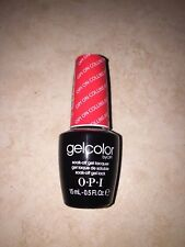 BRAND NEW OPI GEL COLOR SOAK-OFF SOLUBLE - GC B76 OPI ON COLLINS AVE