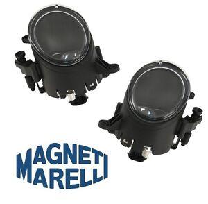 For Audi A4 Quattro S4 Cabriolet Pair Set Of 2 Fog Lights OEM Magneti Marelli