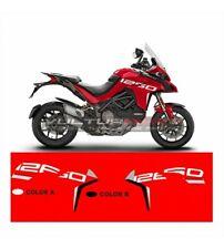 "Adesivi Grand Tour Design fiancate Moto Ducati Multistrada 1260 ""V862"