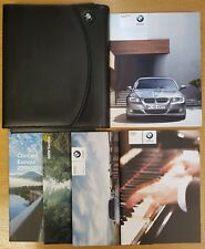 GENUINE BMW 3 SERIES E60 E61 HANDBOOK OWNERS 2008-2012 WALLET PACK D-504