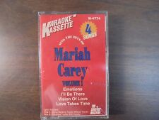 "NEW SEALED ""Mariah Carey"" Volume 1 Karaoke     Cassette Tape (G)"