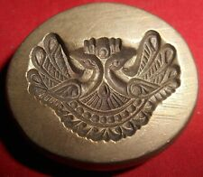 Vintage Bronze Die For Jewellery Molding Pendant Design Hand Engraved (D542)