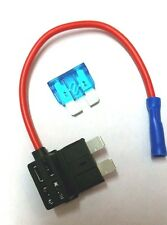 UNIVERSAL TAXI STANDARD 12V ADD A CIRCUIT FUSE HOLDER X2
