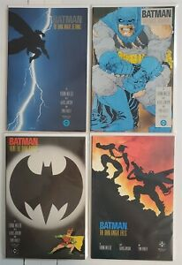 BATMAN: THE DARK KNIGHT RETURNS 1 2 3 4 FULL RUN LOT Frank Miller 1st Prints NM
