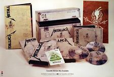 METALLICA 1993 LIVE SH*T RARE DOUBLE PROMO POSTER ORIGINAL